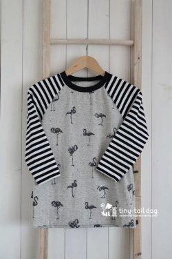 画像1: (予約受注販売) レディース&メンズ ラグランTシャツ